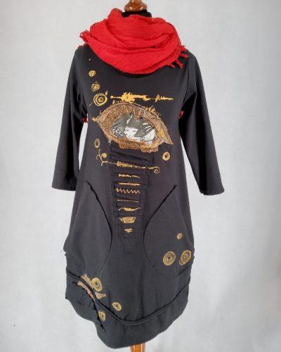 Sukienka złota wariacja