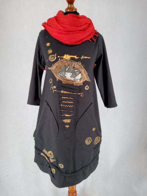 zlota sukienka