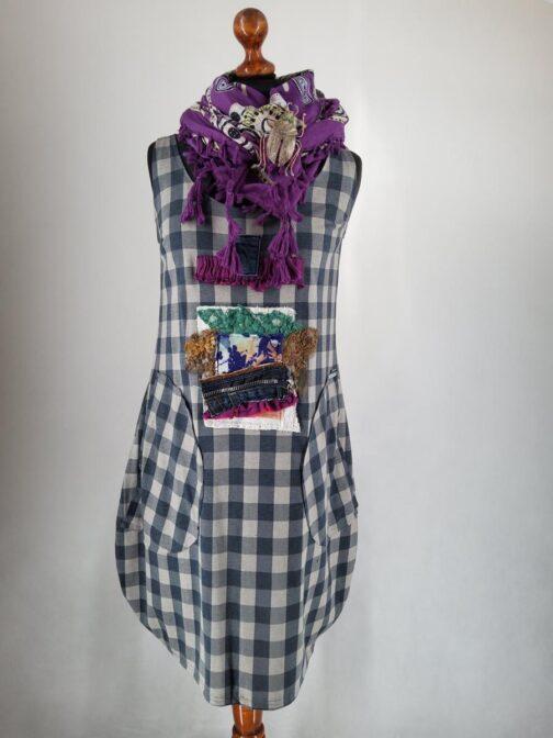 sukienka malowana