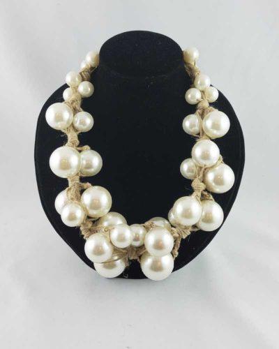 Naszyjnik olbrzymie perły