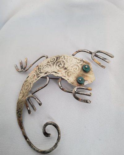 Brocha jaszczur arabeska
