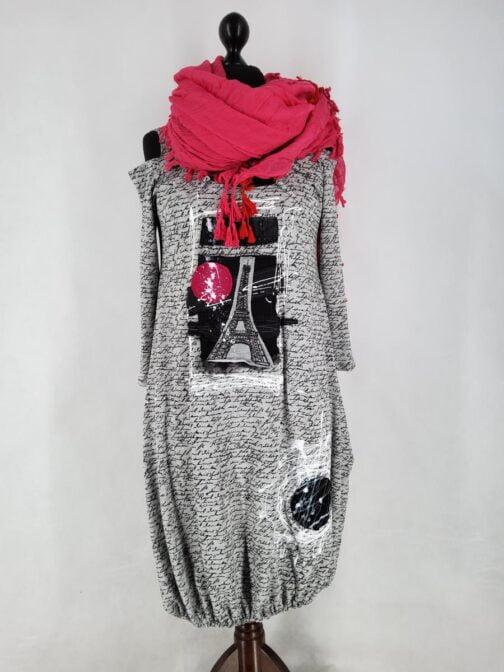 sukienka artystyczna
