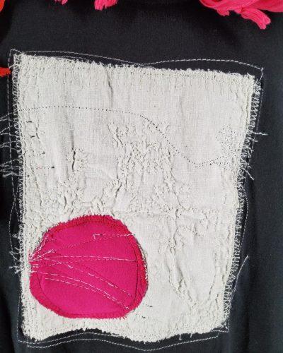 Xlka z różową kropą