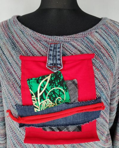 Sweterek kolorowa bombonierka