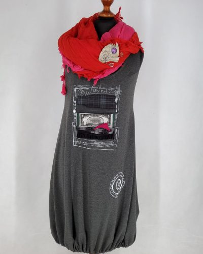 Sukienka bazowa z wariacją