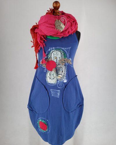 Sukienka niebieska eska