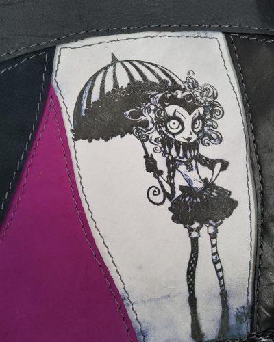 Torba dama z parasolką