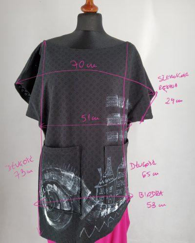 Bluzka asymetryczna M