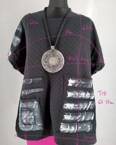 Bluzka asymetryczna L/XL
