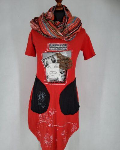 Sukienka czerwona XS