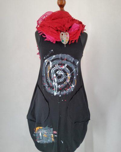 Sukienka malarska S